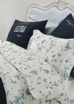 Набор постельного белья Blugirl Castadiva с принтом-бабочками, фото