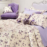 Постельное белье Blugirl Castadiva с принтом-бабочками, фото