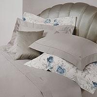 Комплект постельного белья Blumarine Blu Notte с цветочным принтом, фото