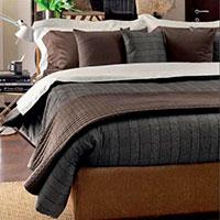 Комплект постельного белья Svad Dondi Principe Galles серого цвета, фото
