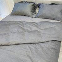Комплект постельного белья Svad Dondi Gessato серого цвета, фото