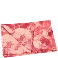 Шерстяной плед Shingora с флористическим принтом, фото