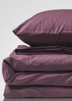 Двуспальный комплект постельного белья Home me Послевкусие инжира из хлопка, фото