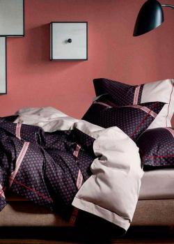 Комплект постельного белья Love You LUX с орнаментом, фото