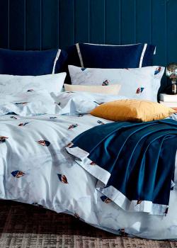 Комплект постельного белья Love You LUX с абстрактным принтом, фото