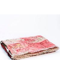 Шерстяной плед Shingora розового цвета 130х180см, фото