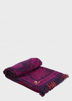 Плед шерстяной Shingora Plum Enchantment двухсторонний 140х180см, фото