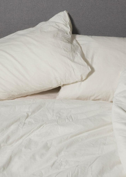 Комплект постельного белья семейный Home me Млечный путь из вареного хлопка, фото