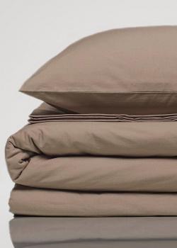 Комплект семейного постельного белья Home me Загадка вечности из однотонного хлопка, фото