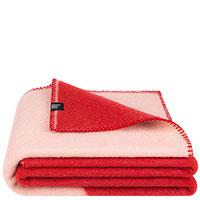 Плед красного цвета Woolkrafts Quarter, фото