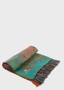 Плед с бахромой Shingora Zen Desire из шерсти 140х180см, фото