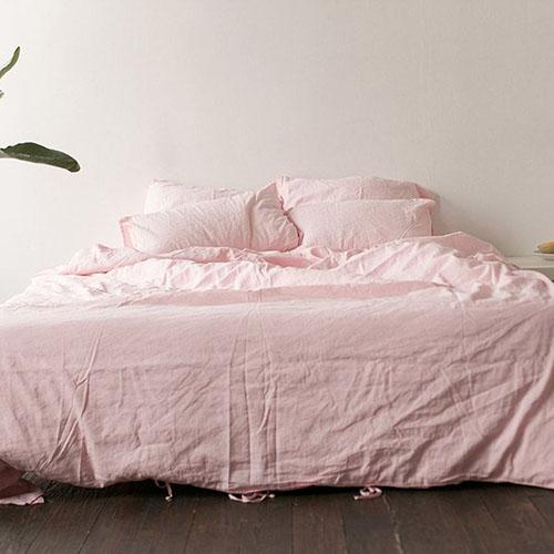 Полуторный комплект постельного белья Etnodim розового цвета, фото