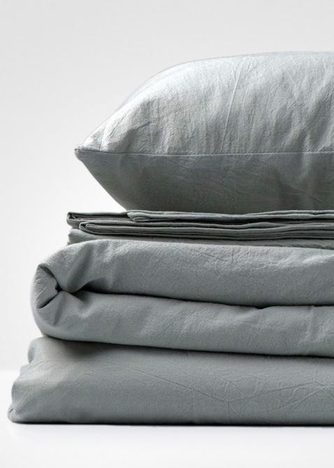 Оливково-серый комплект постельного белья Home me Гордость и предубеждение, фото