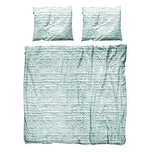 Двуспальный набор постельного белья Snurk Twirre Pale Green, фото