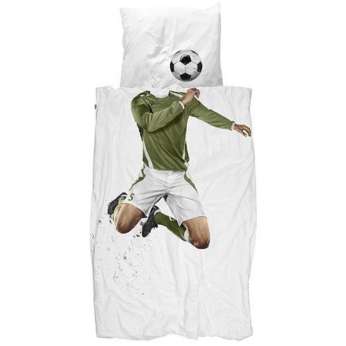 Односпальный комплект постельного белья Snurk Soccer Champ, фото