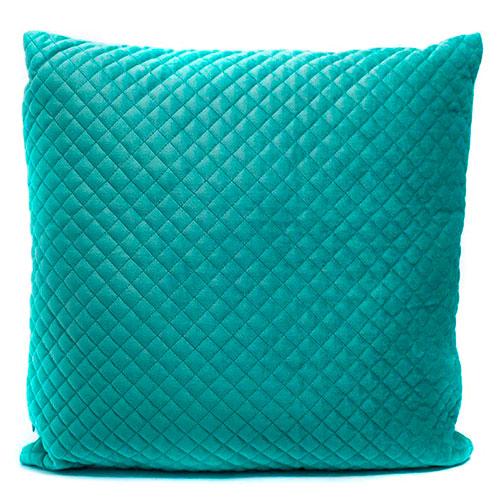 Велюровая подушка  Stof Celadon голубого цвета, фото