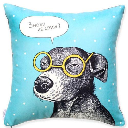 Подушка Orner Store Собака-подозревака, фото