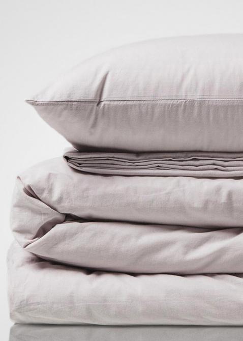 Комплект постельного белья Home me Трепет чувств из вареного хлопка, фото