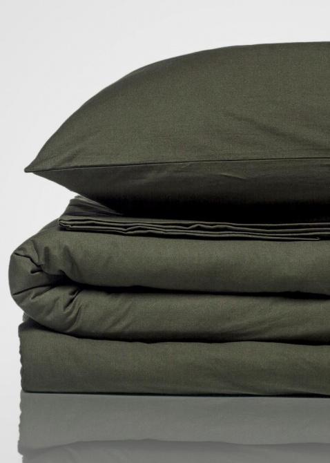 Оливковый комплект постельного белья Home me Восточная сказка, фото
