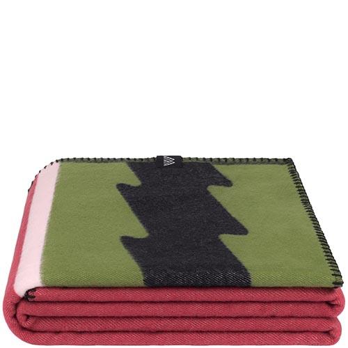 Хлопковый плед Woolkrafts Cotton Collection Slice с арбузным принтом, фото