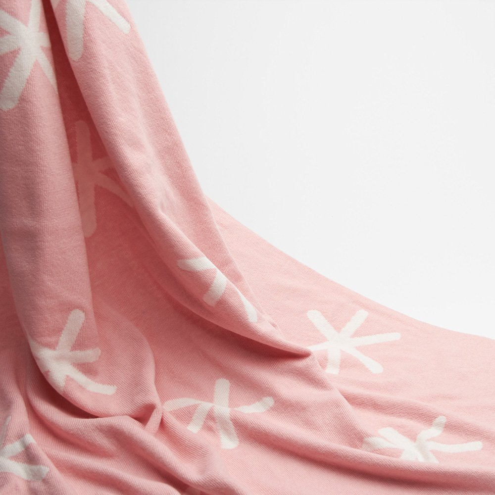 Комплект для новорожденных Perlina Baby Снег розового цвета