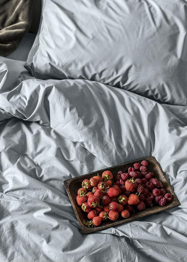 Однотонный комплект постельного белья Home me Утренняя свежесть