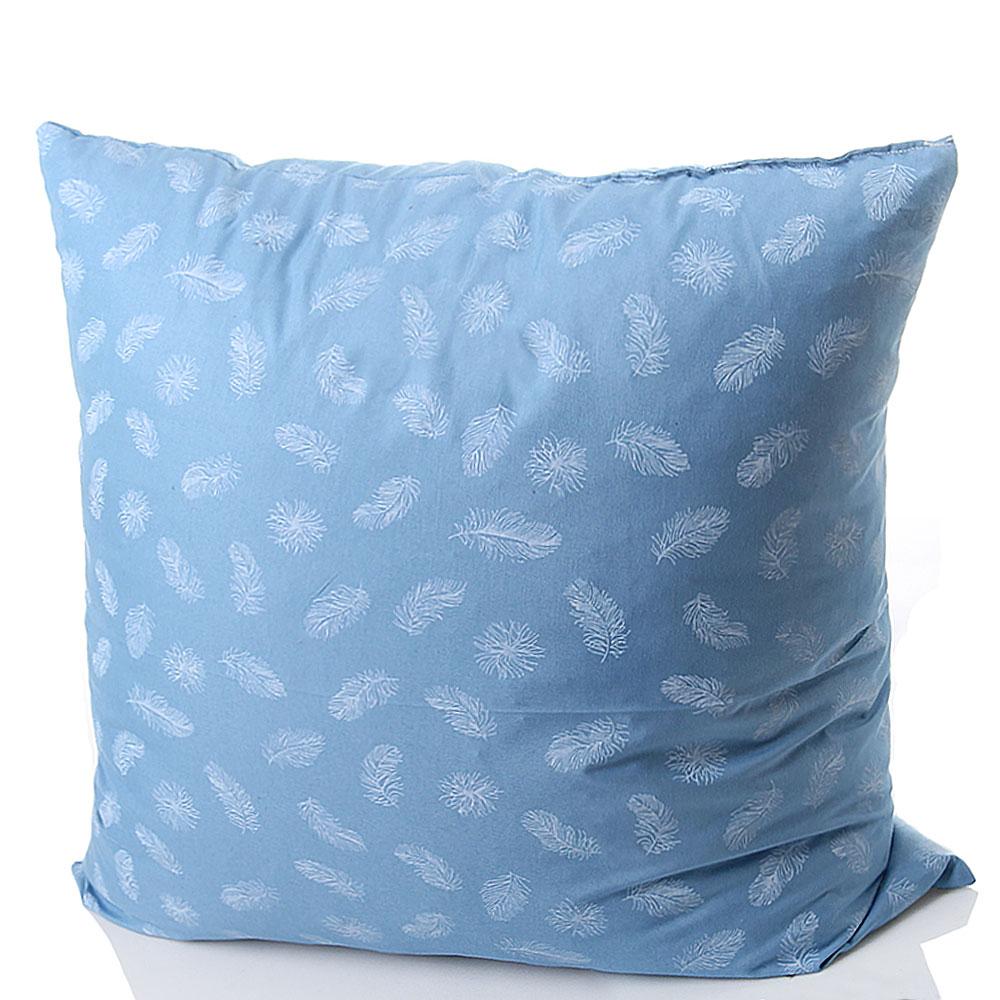 Пуховая подушка Villa Grazia голубого цвета