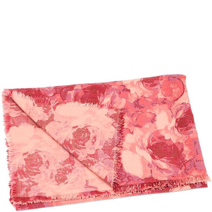 Шерстяной плед Shingora с флористическим принтом