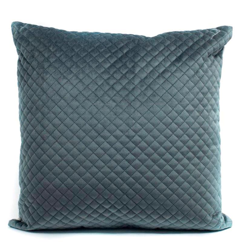 Подушка стёганая Stof Anthracite серого цвета