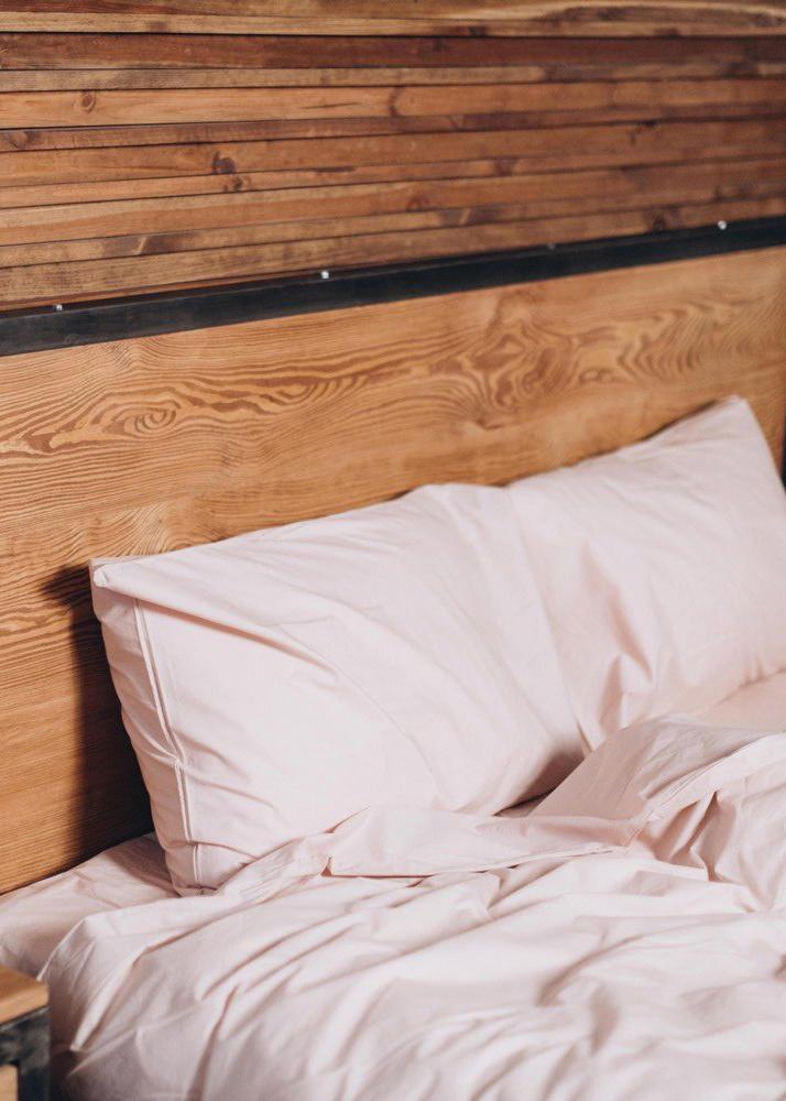 Комплект постельного белья Home me Цветение нежности светло-розового цвета