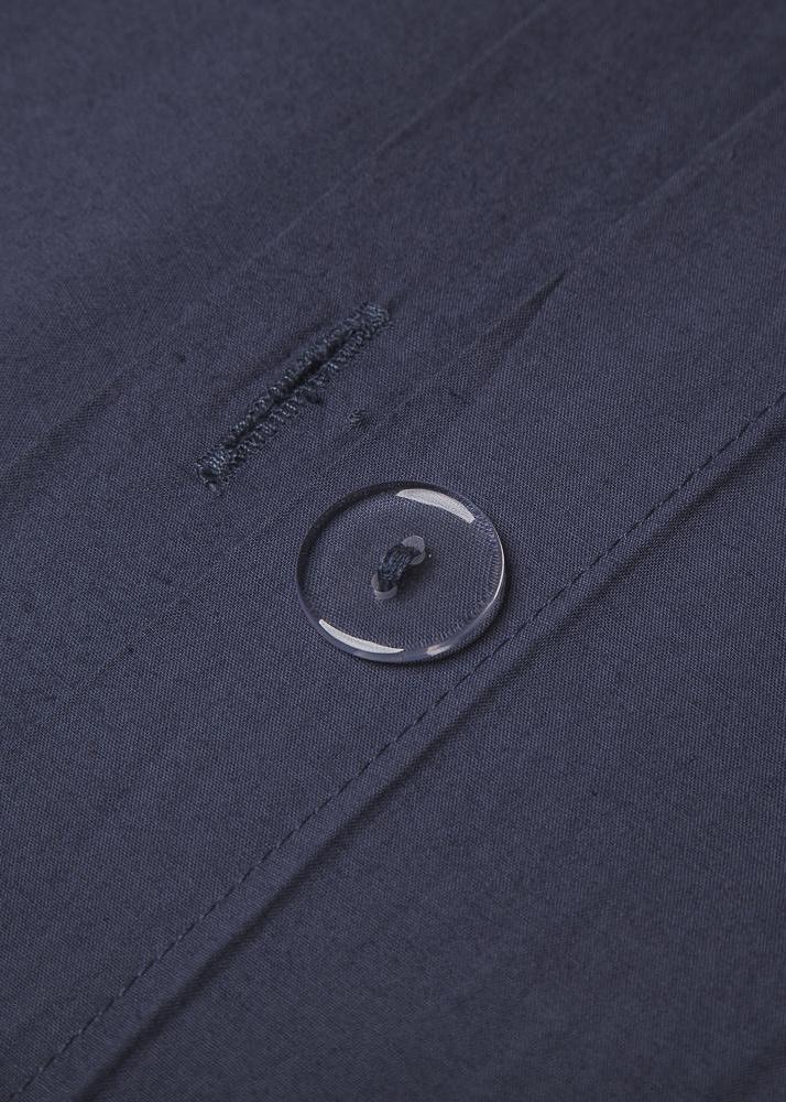 Комплект постельного белья Home me Саргассово море синего цвета