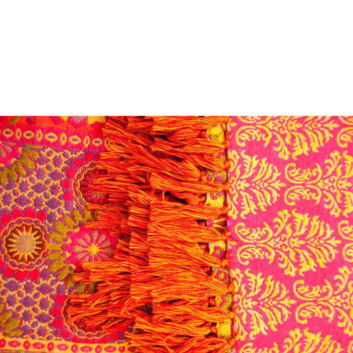 Плед Shingora с пестрыми орнаментами
