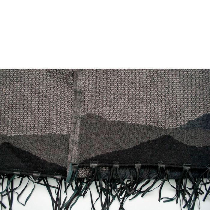 Шерстяной плед Shingora с кистями