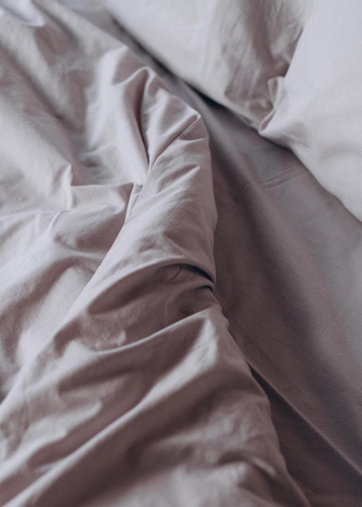 Однотонный комплект постельного белья Home me Трепет чувств