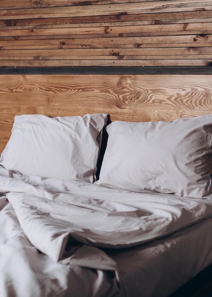 Комплект постельного белья Home me Трепет чувств из вареного хлопка
