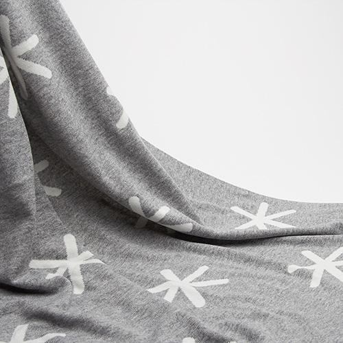 Комплект для новорожденных Perlina Baby Снег серого цвета, фото