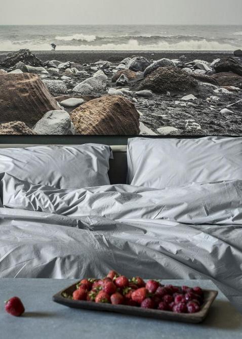 Однотонный комплект постельного белья Home me Утренняя свежесть, фото