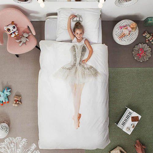 Односпальный комплект постельного белья Snurk Ballerina, фото