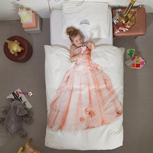 Односпальный комплект постельного белья Snurk Princess, фото
