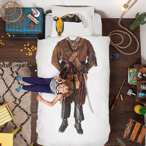 Односпальный комплект постельного белья Snurk Pirate, фото