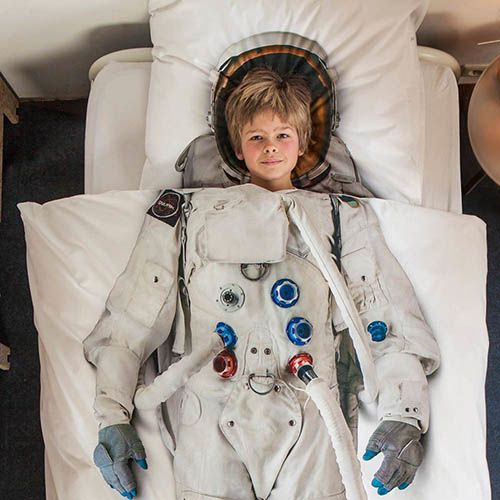 Односпальный комплект постельного белья Snurk Astronaut, фото