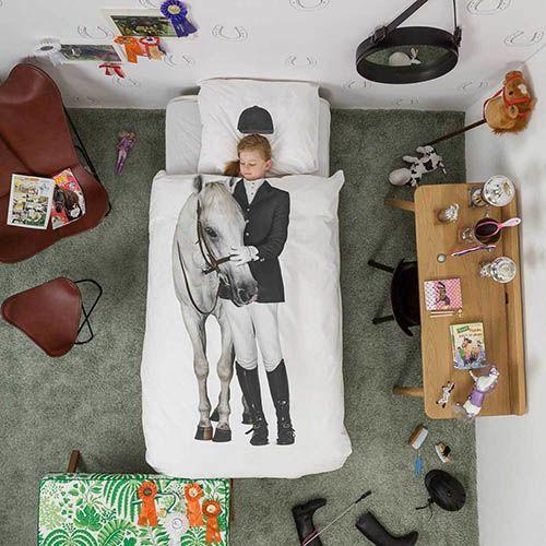 Односпальный комплект постельного белья Snurk Amazone, фото