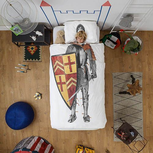 Односпальный комплект постельного белья Snurk Knight, фото
