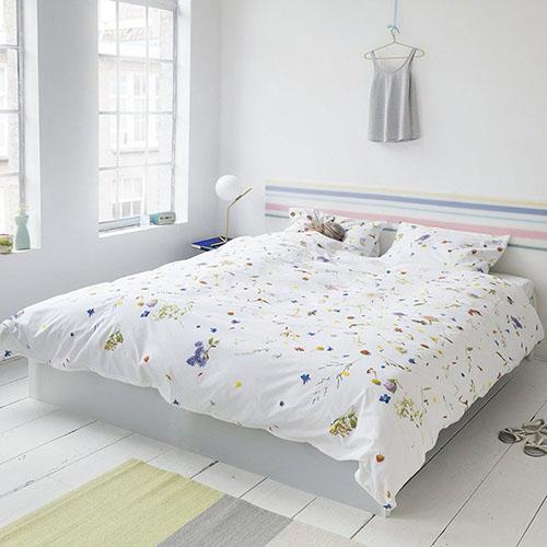 Односпальный комплект постельного белья Snurk Flower fields, фото