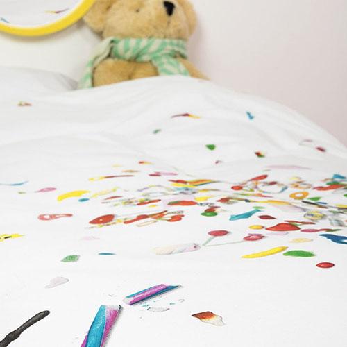 Односпальный комплект постельного белья Snurk Candy blast, фото