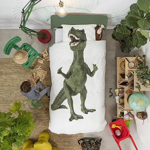 Односпальный комплект постельного белья Snurk Dinosaurus Rex, фото