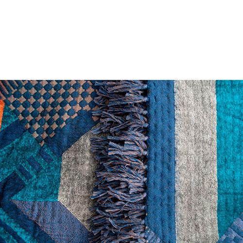 Плед Shingora с геометрическими элементами, фото
