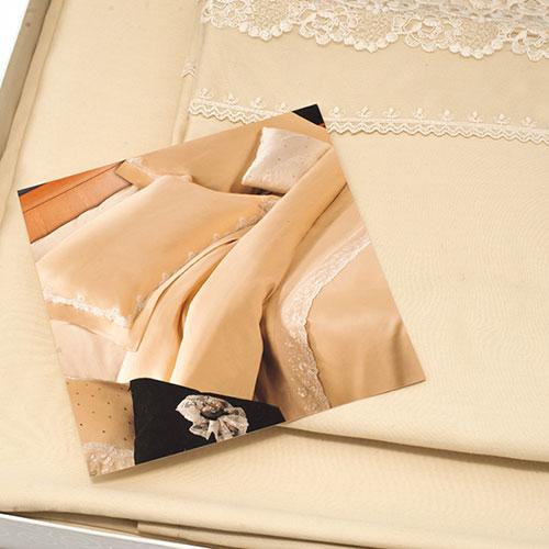 Набор постельного белья Bic Ricami с кружевом, фото