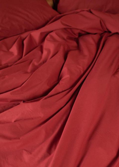 Двуспальный комплект постельного белья Home me Сладкий гранат, фото