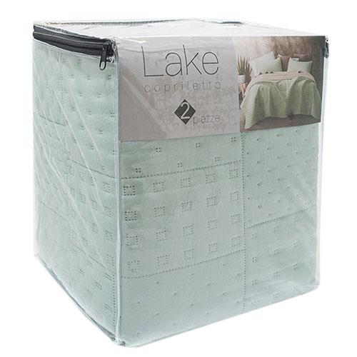 Покрывало Centrotex Lake Cube Quilt  260*260 см светло-зеленое, фото